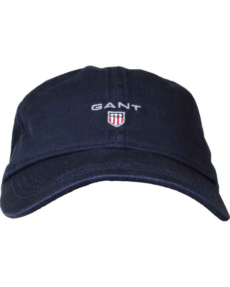 GANT Basic Twill Cap Navy hos CareOfCarl.com eac6e50e65e