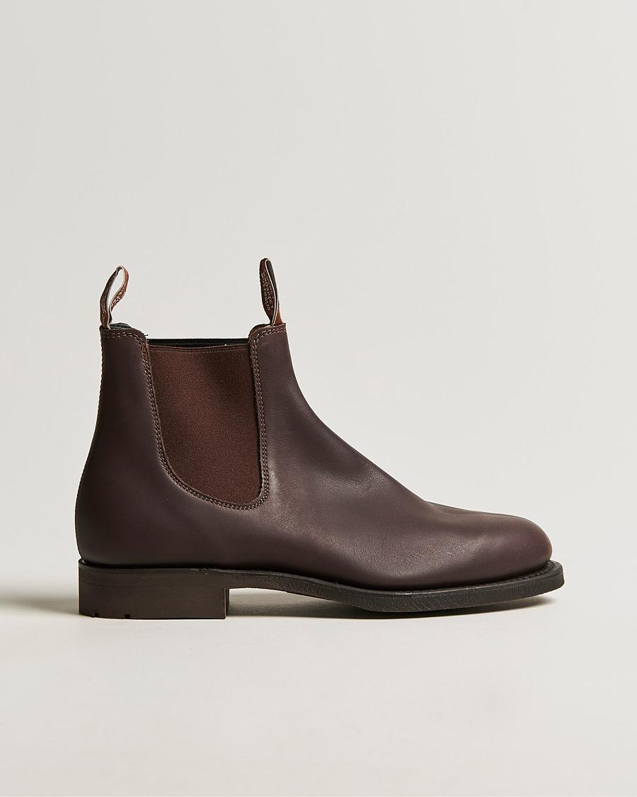 32ca6a316bf R.M.Williams Gardener G Boot Greasy Kip Brown UK6 - EU39