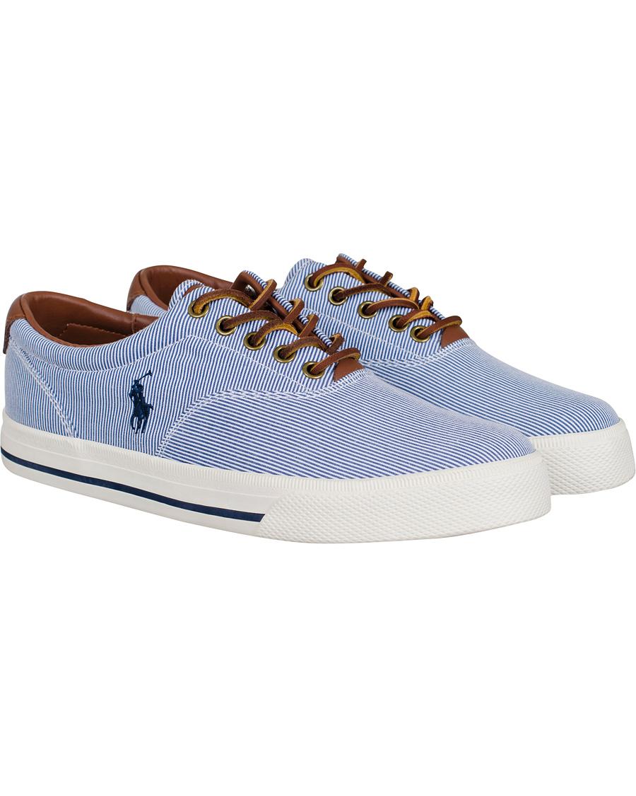 Polo Ralph Lauren Vaughn NE Stripe Sneaker Navy hos