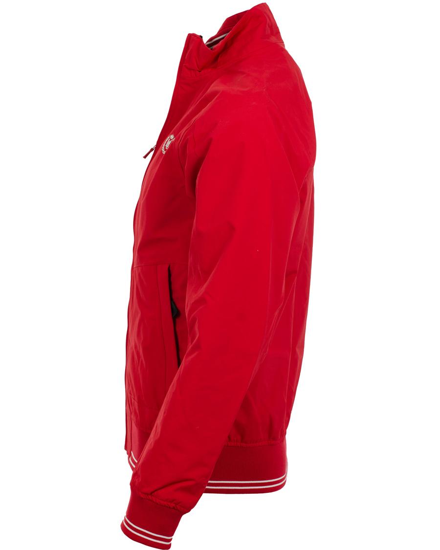 att köpa färska stilar ny autentisk Henri Lloyd Carlson Bomber Jacket Signal Red hos CareOfCarl.com