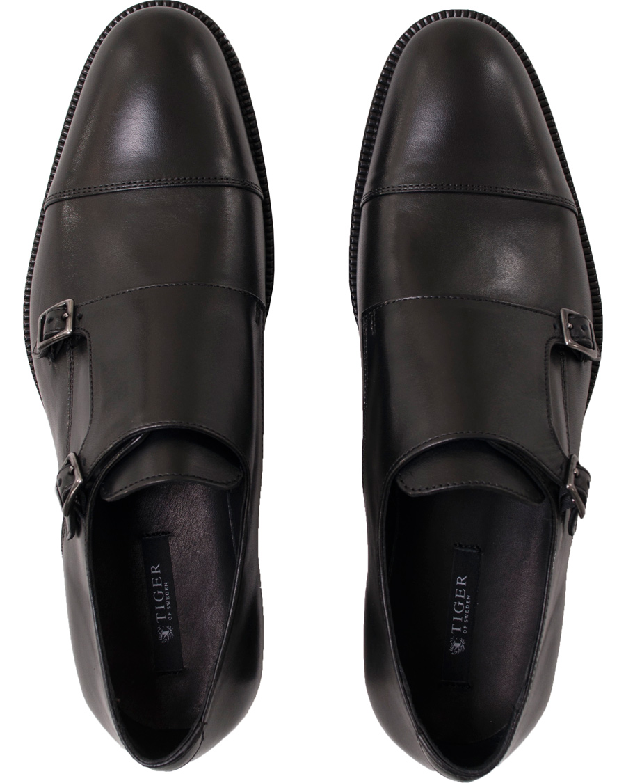 f5f0fc25 Tiger of Sweden Aldwin Double Monkstrap Black Calf hos CareOfCarl