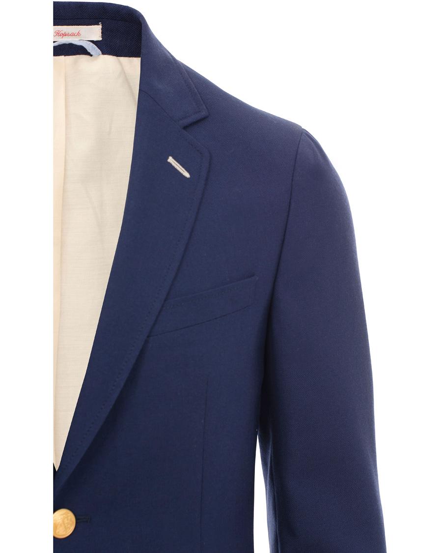 GANT Rugger The Hopsack Club Blazer Evening Blue hos