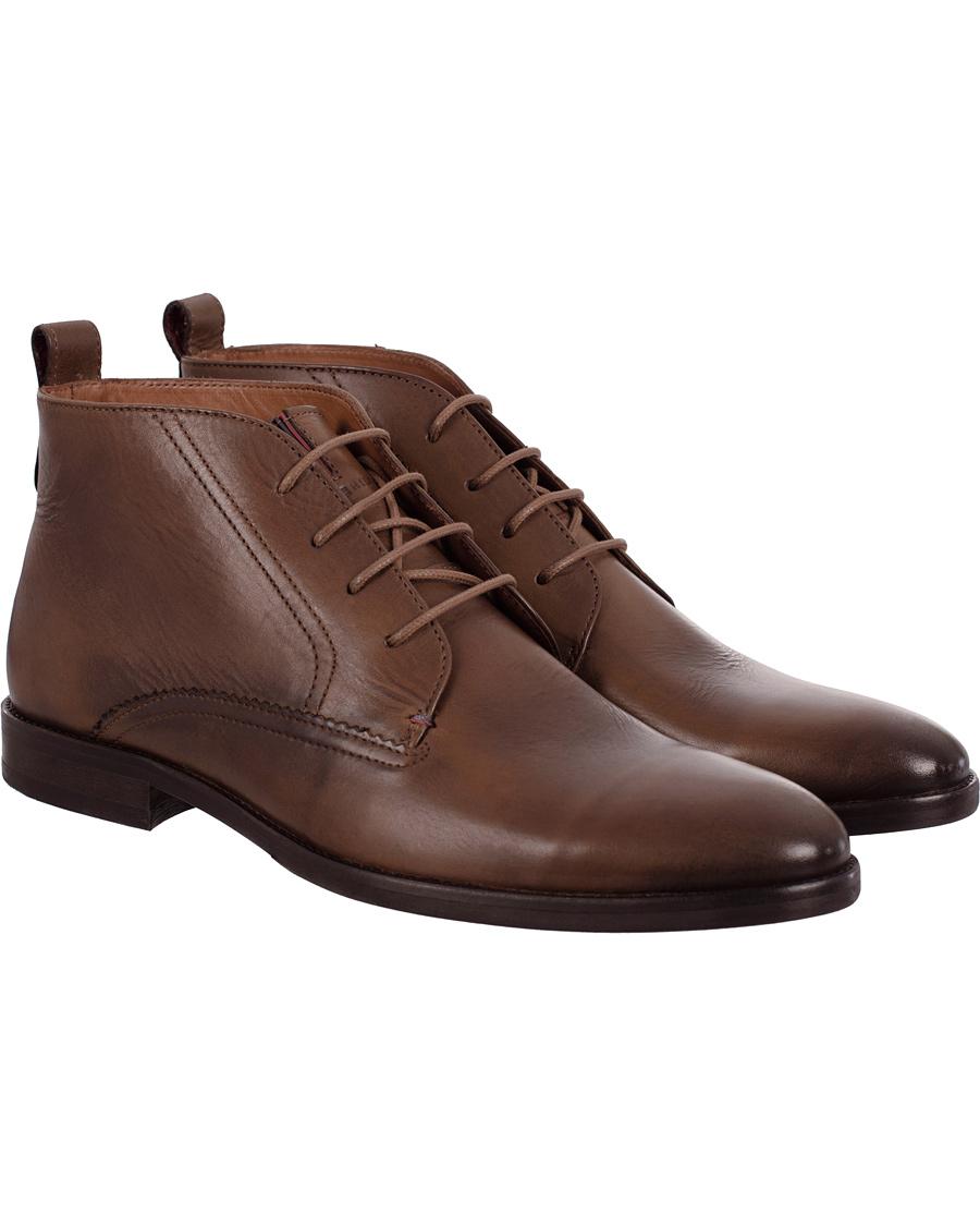 f17628e9db3ba5 Tommy Hilfiger Dalton 11A Chukka Boot Winter Cognac Calf hos Care