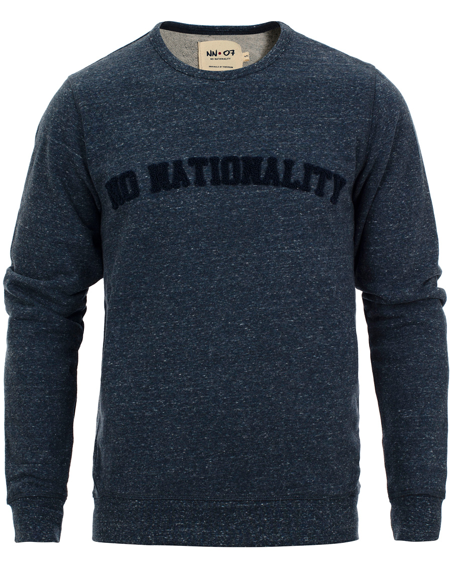 NN07 Alex Logo 3189 Sweater Navy hos