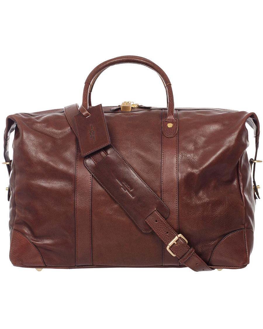 Baron Weekendbag Brown Leather