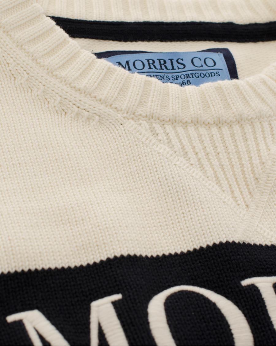 Morris Cumbria Knit Off White hos