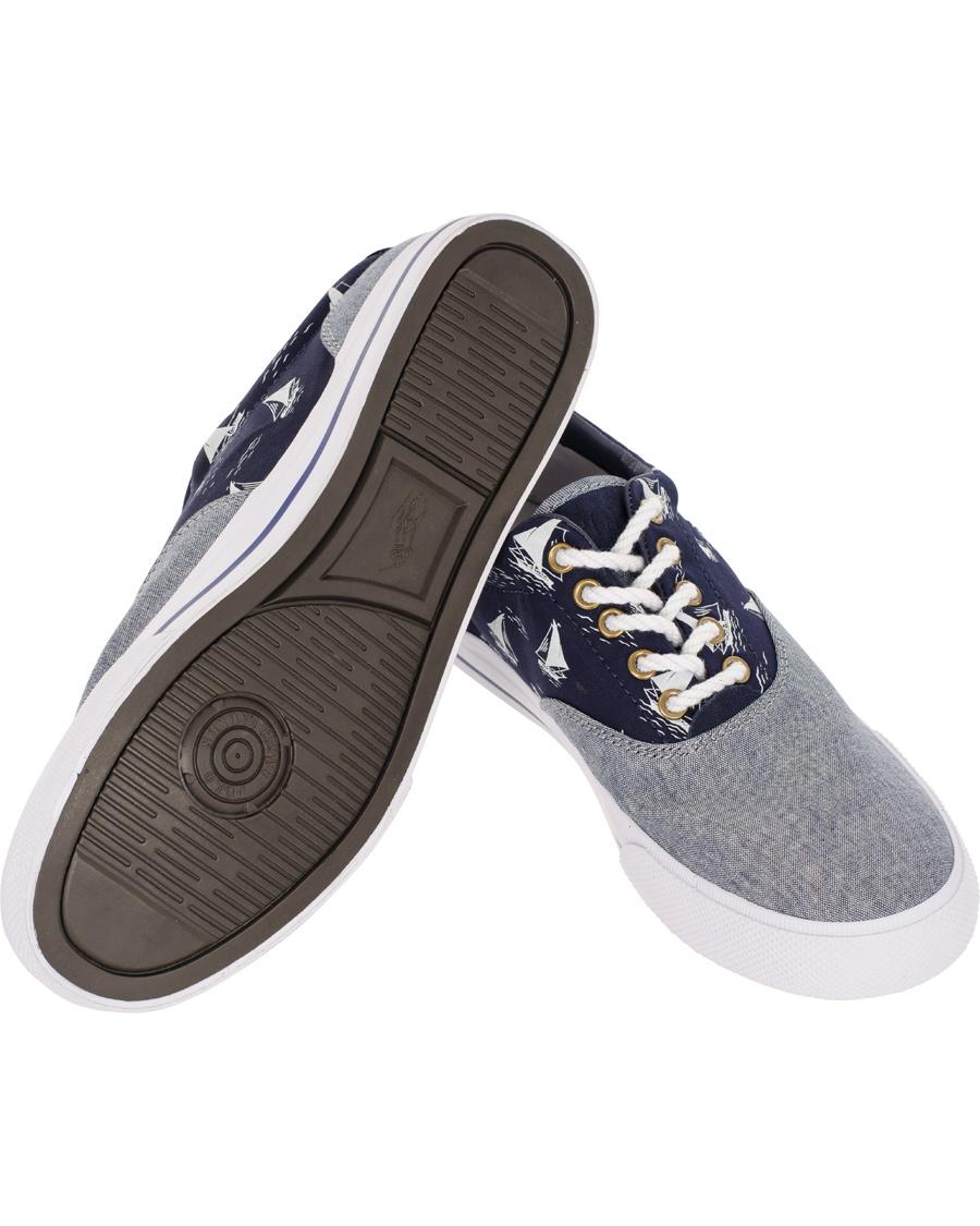 Polo Ralph Lauren Vaughn NE Sneaker Slate Grey hos