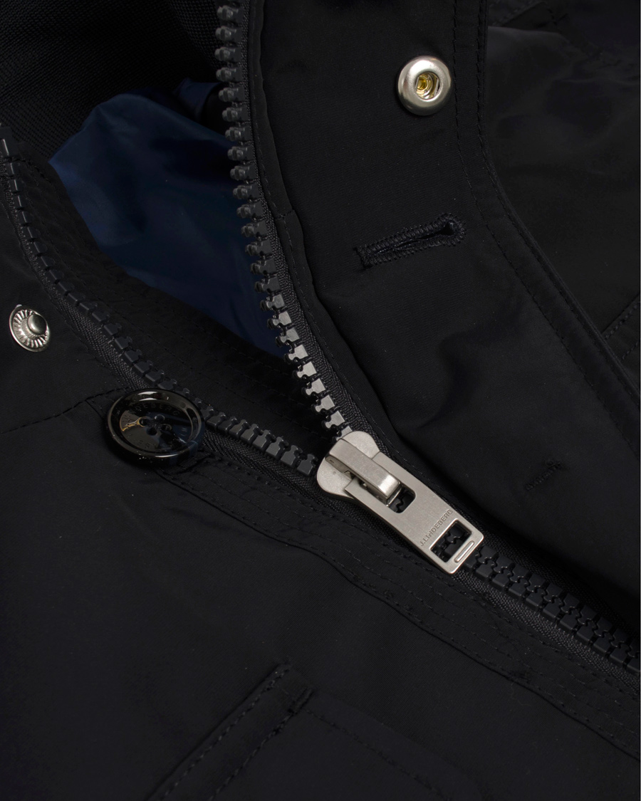 J.Lindeberg Bailey Structured Poly Jacket Dark Navy hos