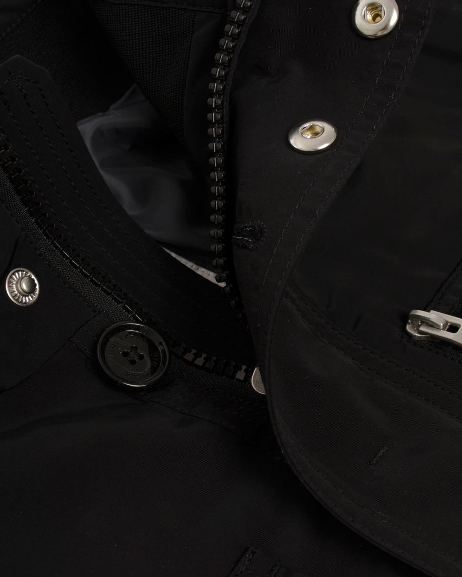 J.Lindeberg Bailey Structured Poly Jacket Black hos