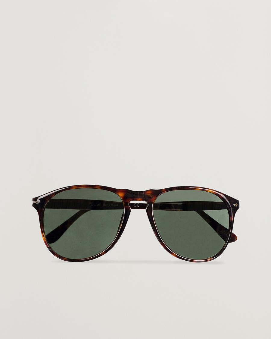 79fc158e7c3b Persol PO9649S Sunglasses Havana Crystal Green hos CareOfCarl.c