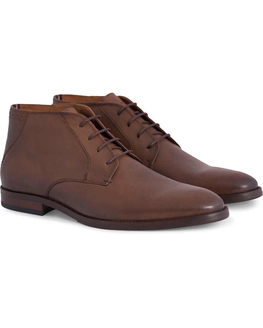 22565ef936f2e Tommy Hilfiger Dalton 16A Chukka Boot Winter Cognac Calf hos Care