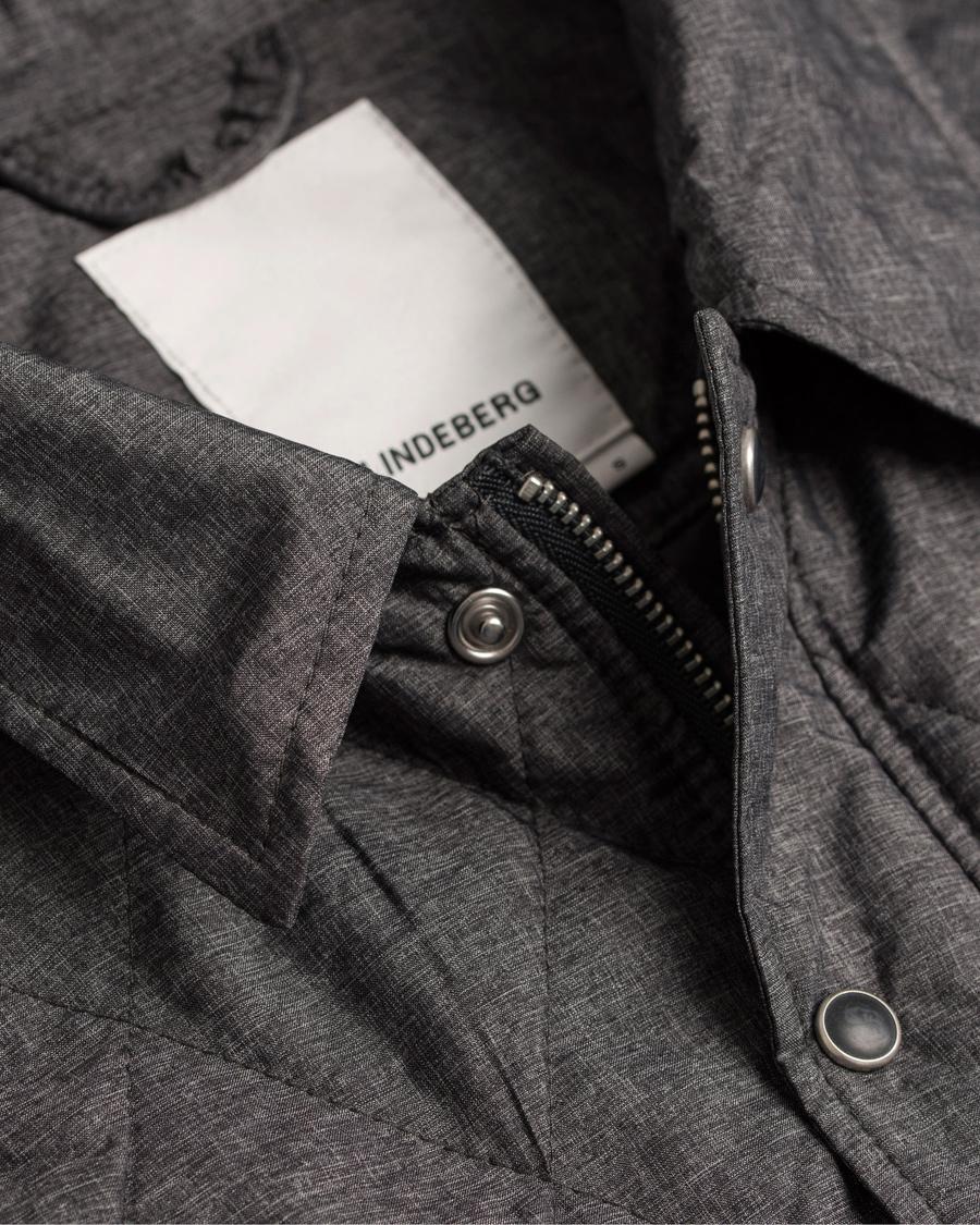 J.Lindeberg Lawler 61 DNM Nylon Jacket Grey hos