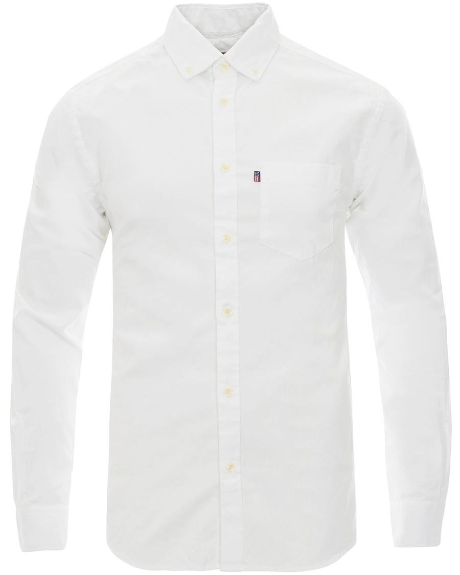 Lexington Kyle Oxford Shirt Bright White hos CareOfCarl.com 6590df0ffb0d1