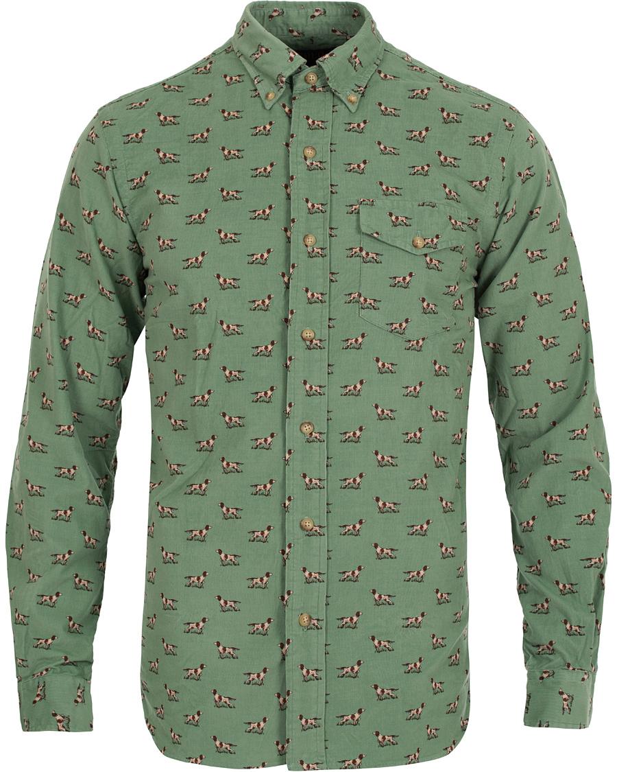 Polo Ralph Lauren Corduroy Core Fit Shirt Green hos