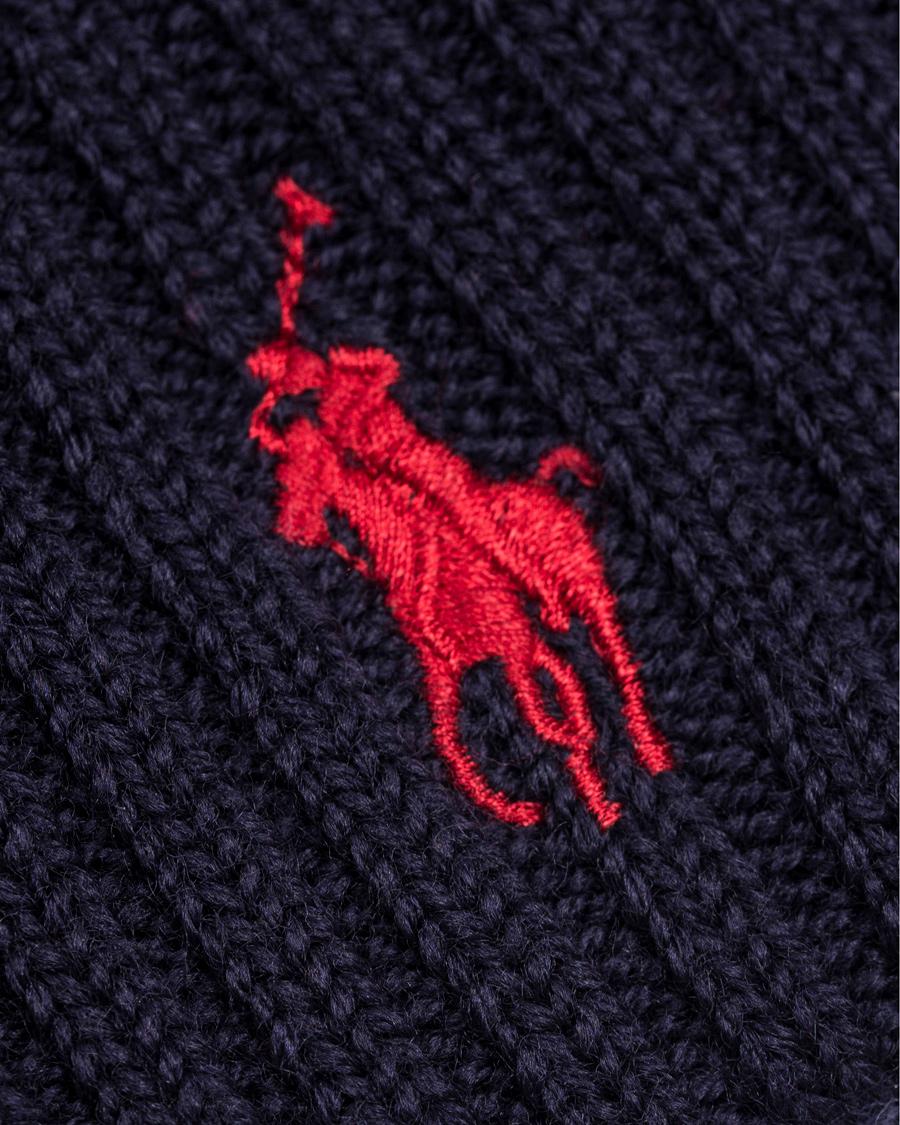 Polo Ralph Lauren Merino Cap Hunter Navy hos CareOfCarl.com 3bf32aad076