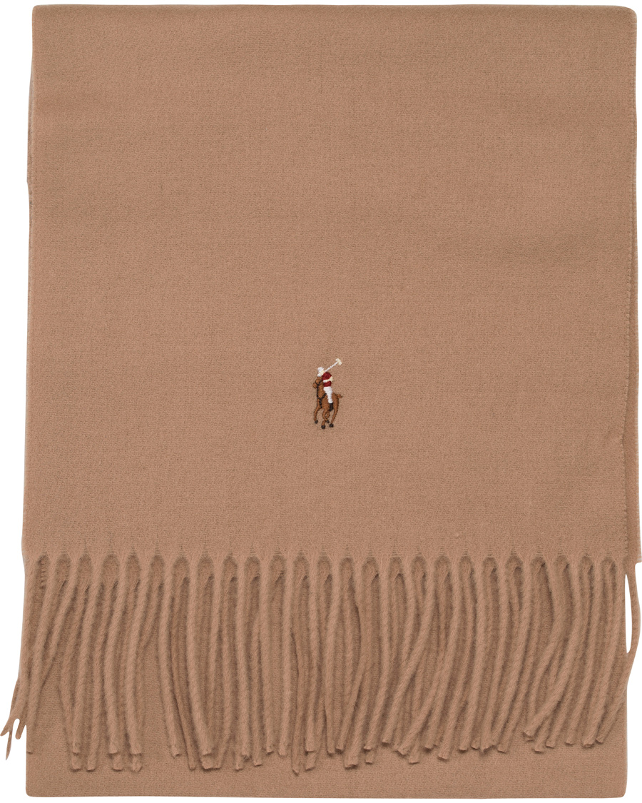 f69711f1f Polo Ralph Lauren Signature Scarf Real Camel