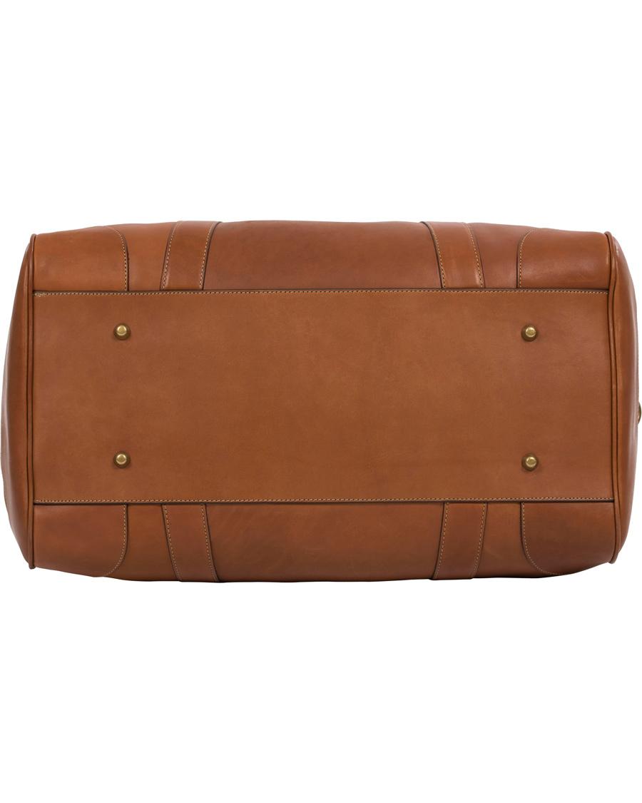 Polo Ralph Lauren Leather Duffle Bag Cognac hos CareOfCarl.com 06c07416acf5d