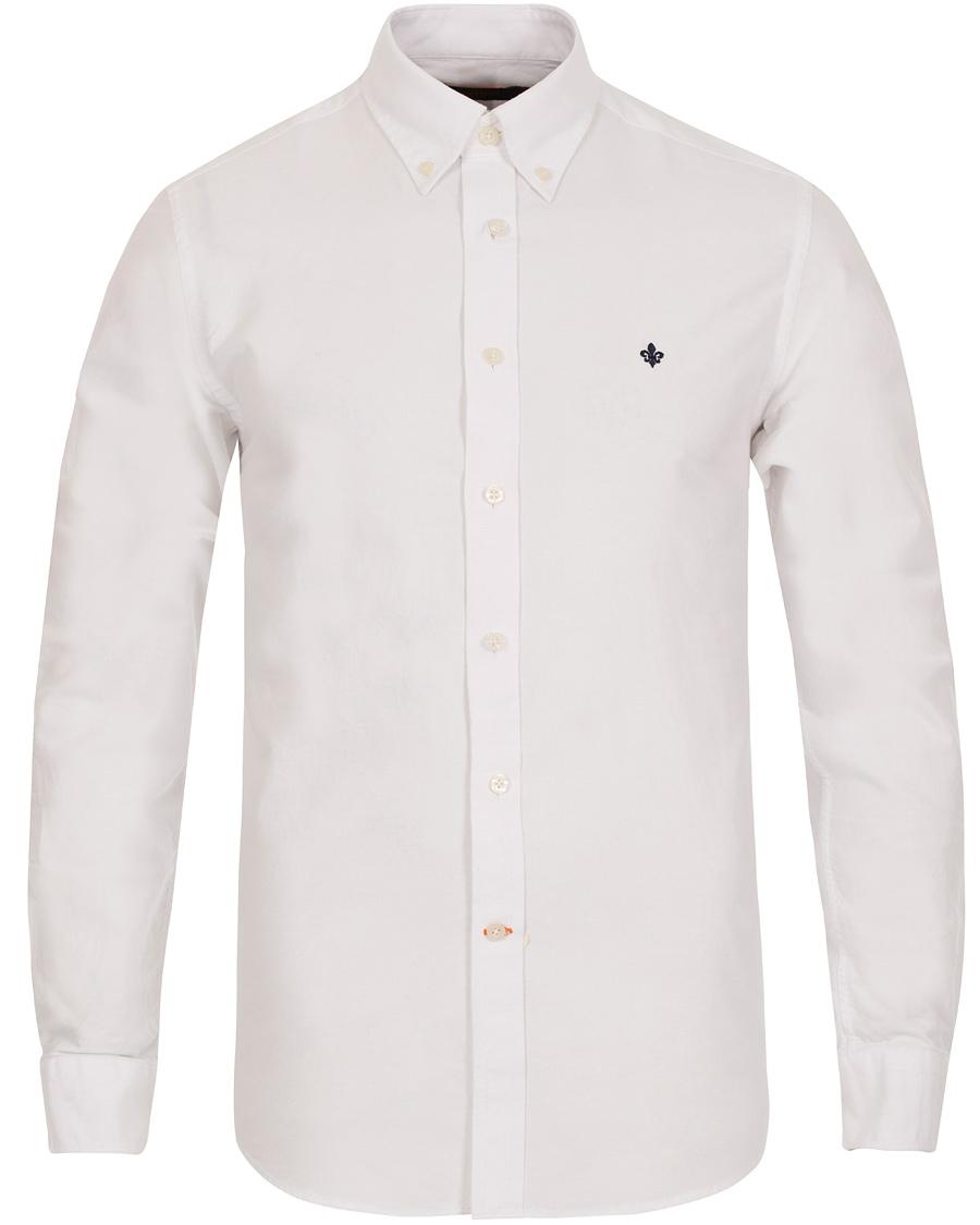 Morris Oxford Button Down Shirt White hos CareOfCarl.com a56fadf3a9430