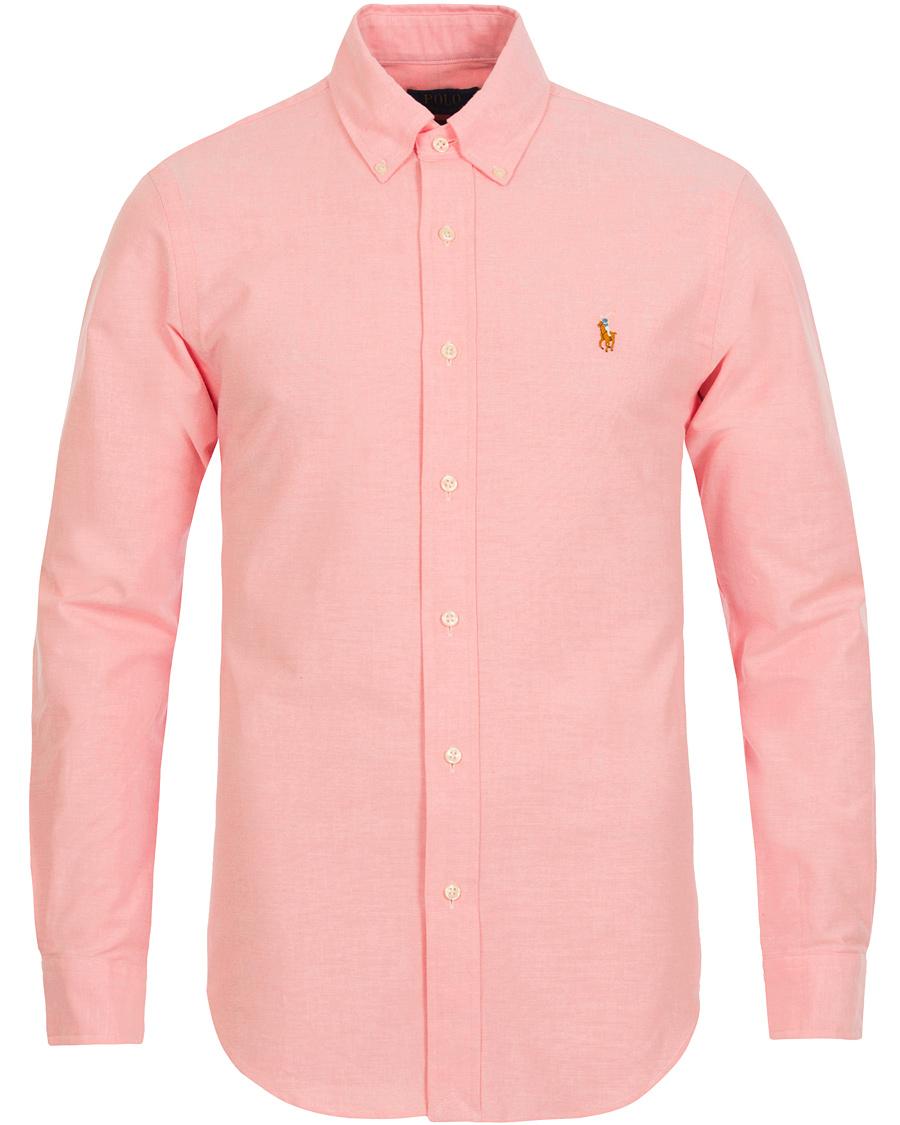 ralph lauren rosa skjorta
