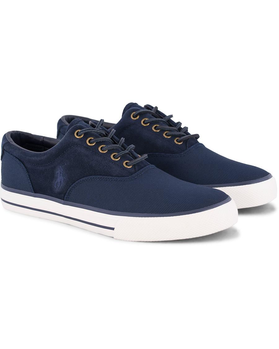 Polo Ralph Lauren Vaughn PiqueNylon Sneaker Navy hos