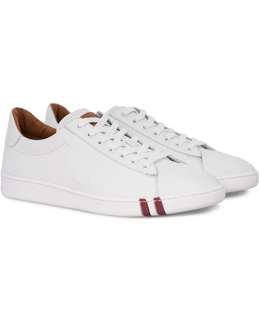 Bally Asher Sneaker White Calf hos CareOfCarl.com 9c0bf0e067a0c