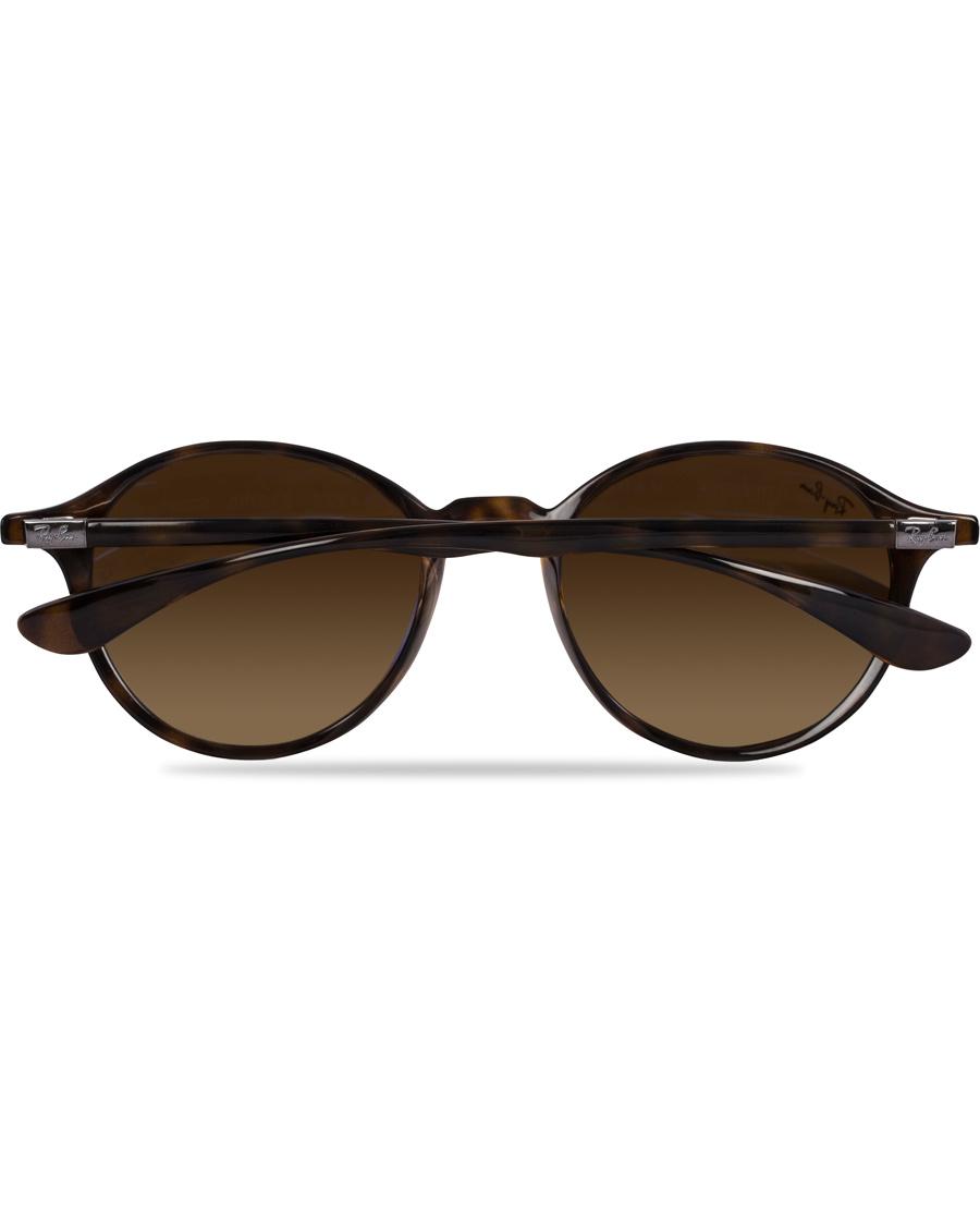 size 40 b9e1a eae8b Ray-Ban 0RB4237 Round Sunglasses Havana Brown
