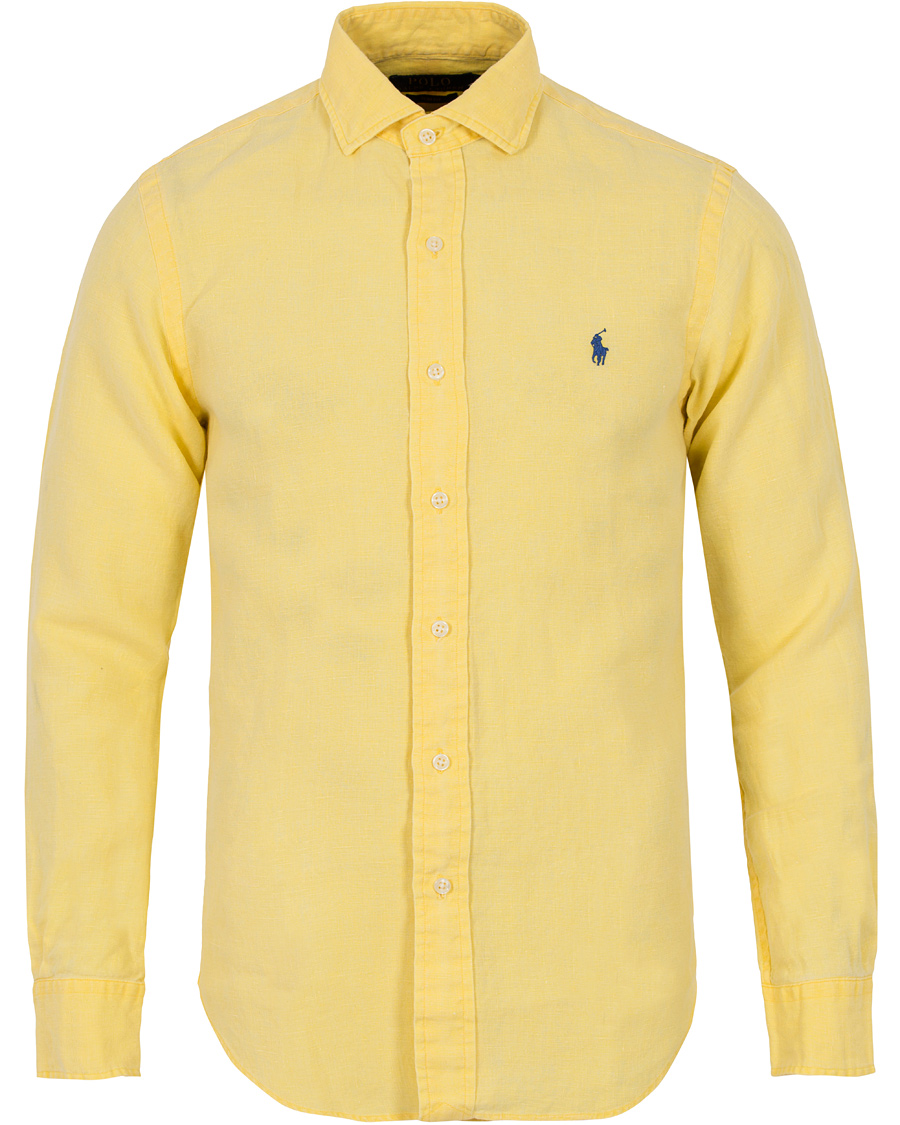 ralph lauren linne skjorta