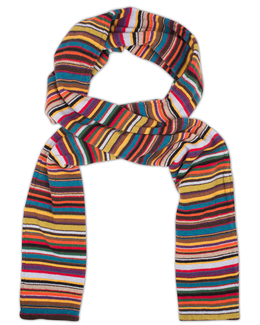 fb2683a6e7fb Paul Smith Knitted Striped Scarf Multi i gruppen Accessoarer / Halsdukar  hos Care of Carl (