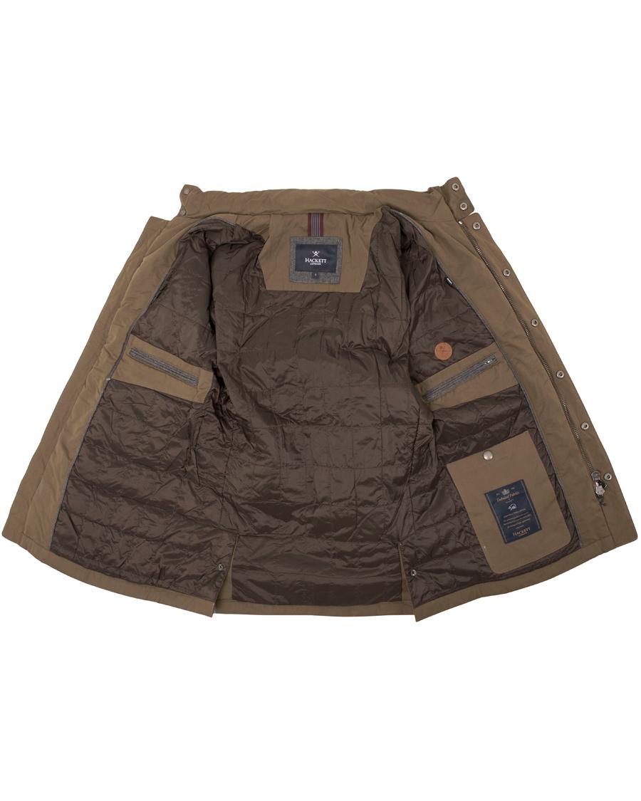 Hackett New Velospeed Jacket Taupe hos