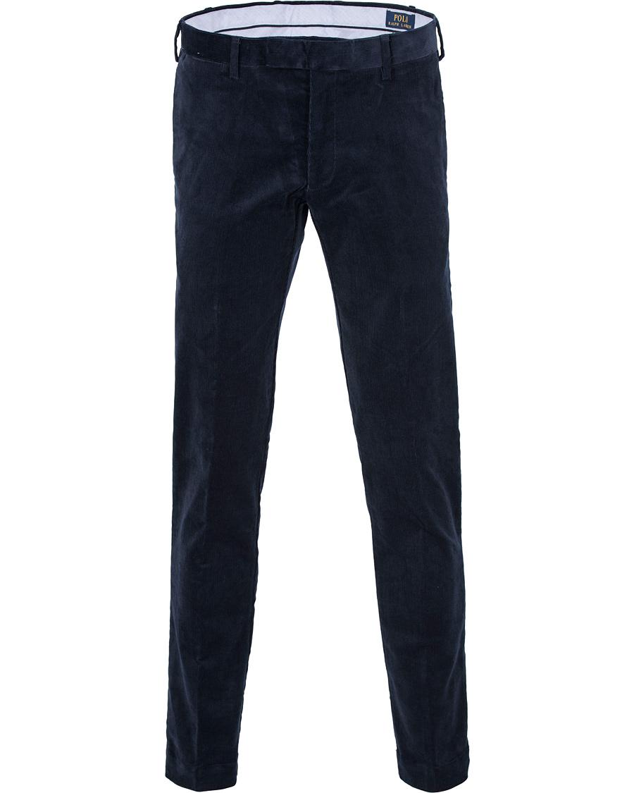 f39688626f3606 Polo Ralph Lauren Hudson Slim Fit Corduroy Pants Worth Navy hos C