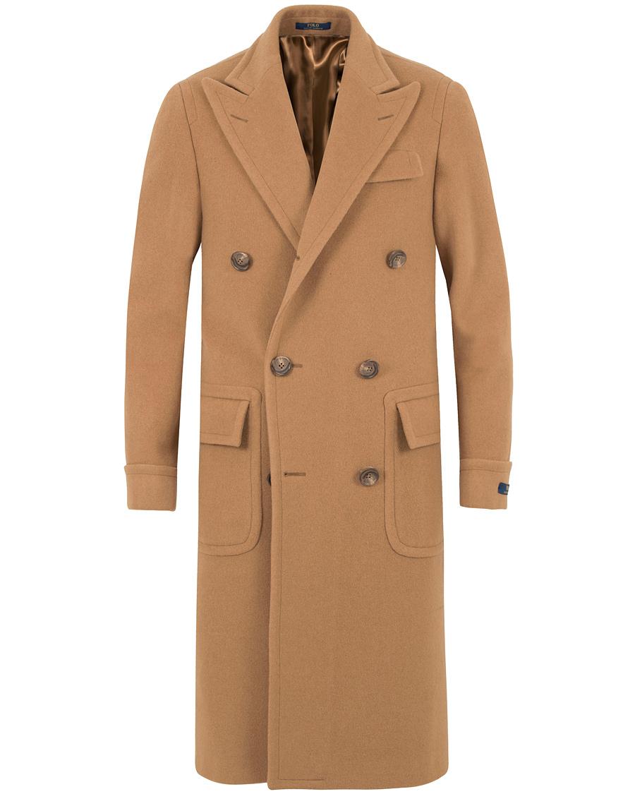 798be2b70696 Polo Ralph Lauren Clothing Camelhair Top Coat Camel hos CareOfCar