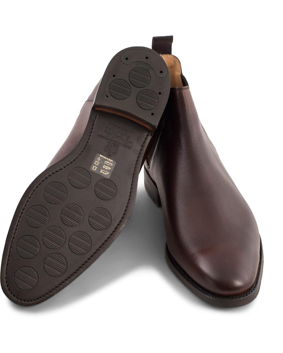 top design half off famous brand Crockett & Jones MTO Chelsea 8 City Sole Brown Grain Calf