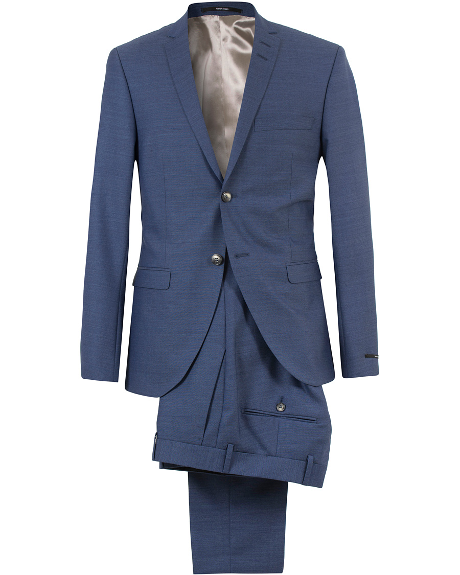 Tiger of Sweden Jil 8 Wool Suit Blue hos CareOfCarl.com bfc52d3b1927c