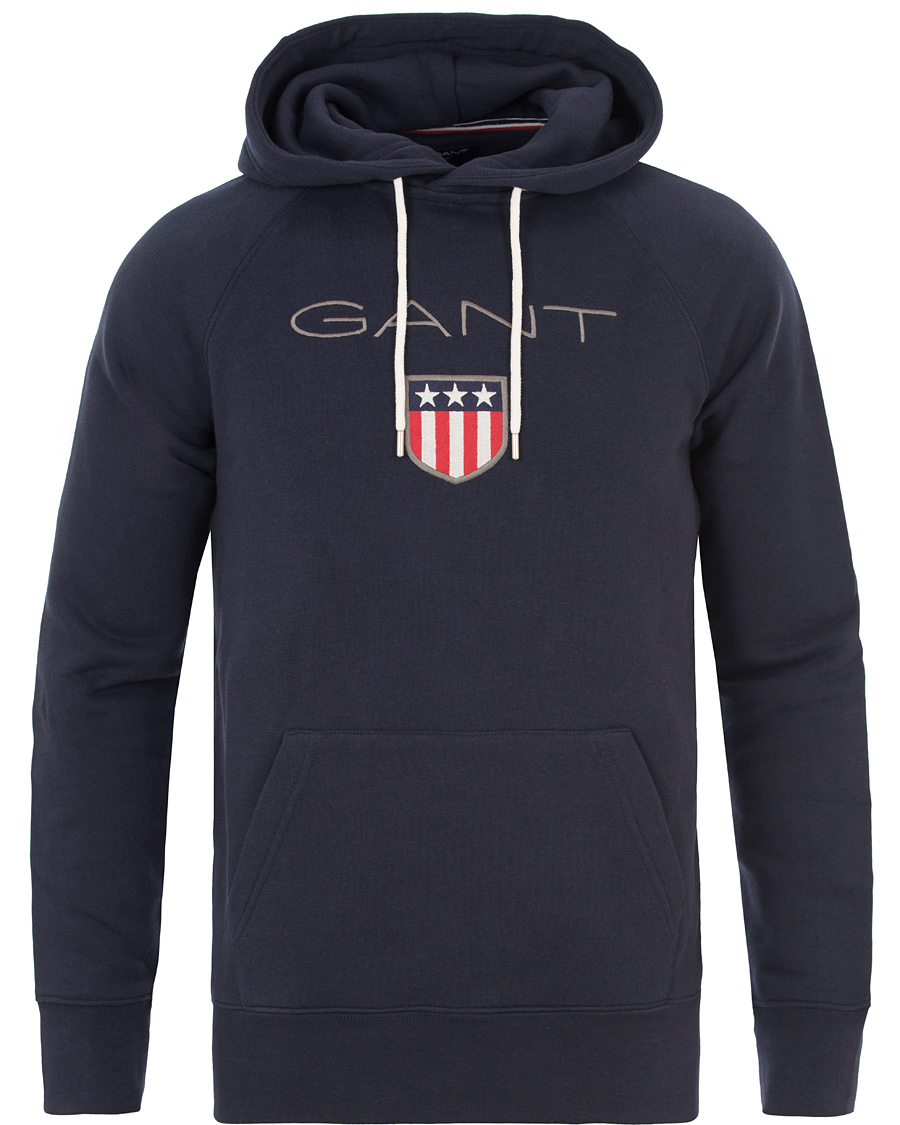 Gant Shield Sweat Hoodie W Grey Melange