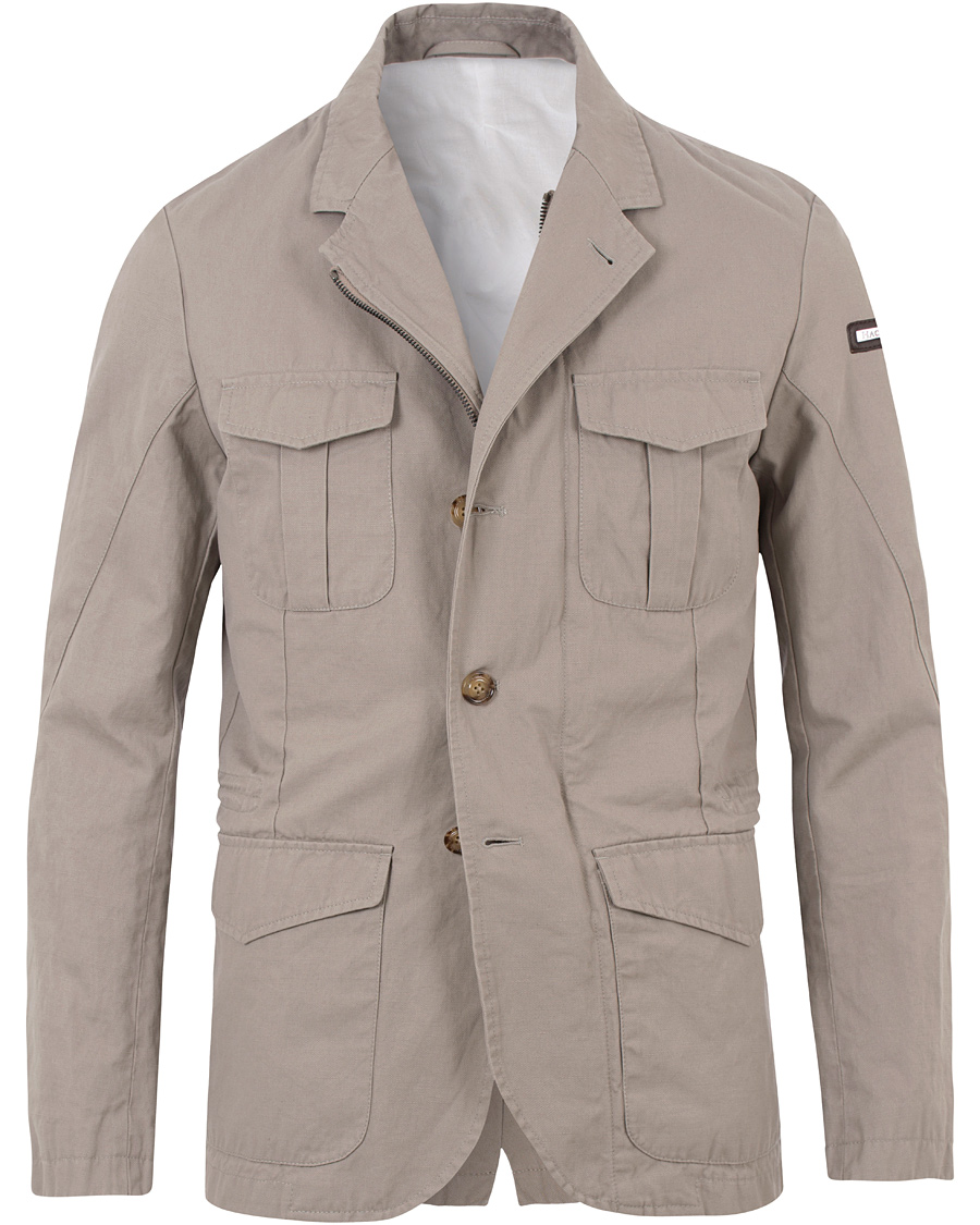 Hackett Safari Jacket Khaki hos