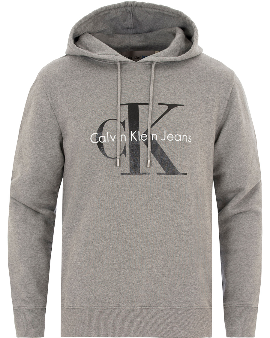 Calvin Klein Jeans True Icon Logo Sweatshirt Grey Heather