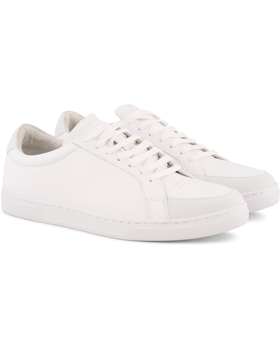 Tiger of Sweden Arne Leather Sneakers White hos