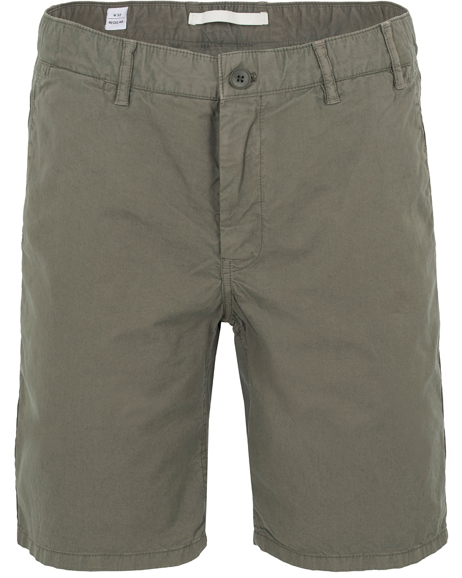 51ccacd38f1 Norse Projects Aros Light Twill Shorts Dried Olive hos CareOfCarl