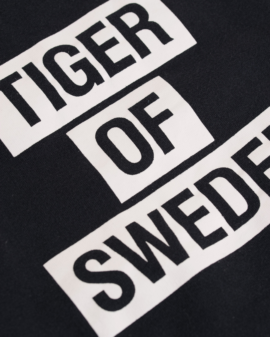 Tiger of Sweden Eriik Logo Sweatshirt Navy hos