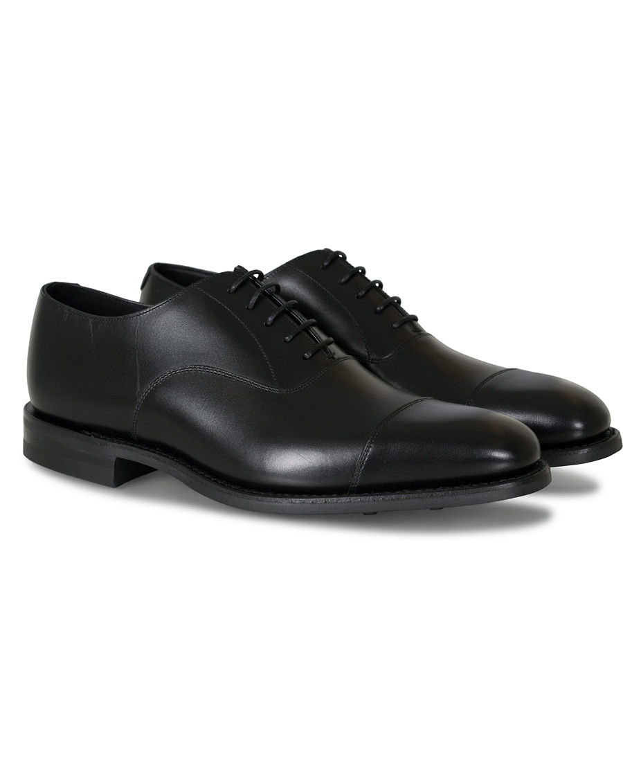 8ee52f93 Loake 1880 Aldwych Single Dainite Oxford Black Calf hos CareOfC