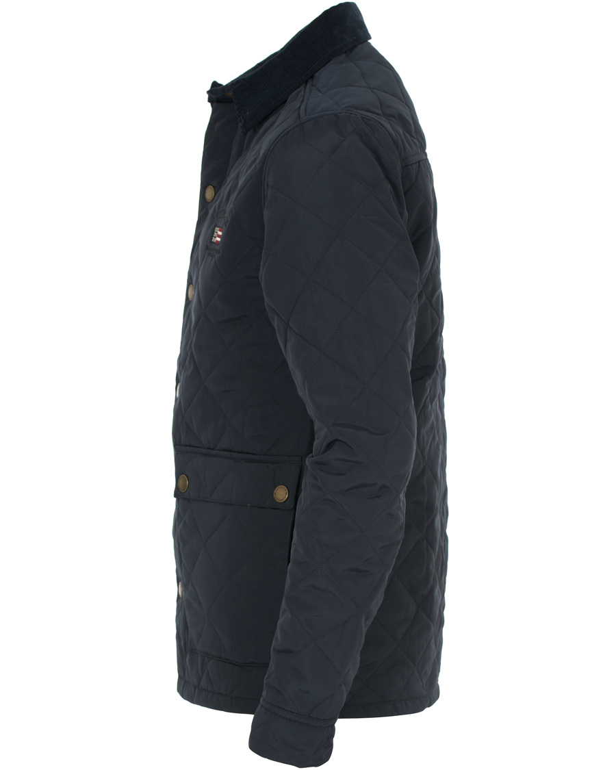 Lexington Hunter Quilted Jacket Deepest Blue hos