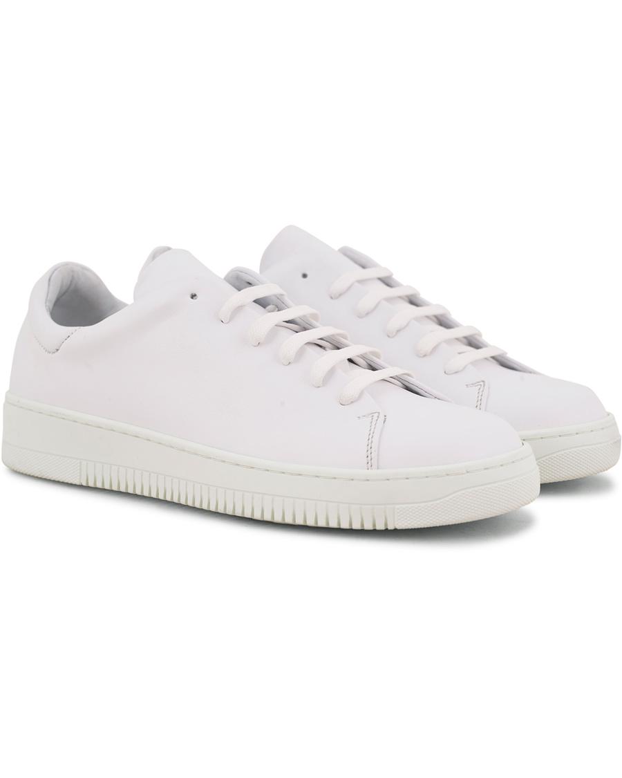 J.Lindeberg Leather Sneaker White hos