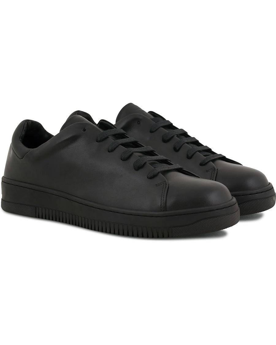 J.Lindeberg Leather Sneaker Black hos