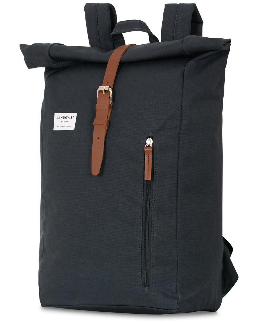 Sandqvist Dante Roll Top Backpack Blue