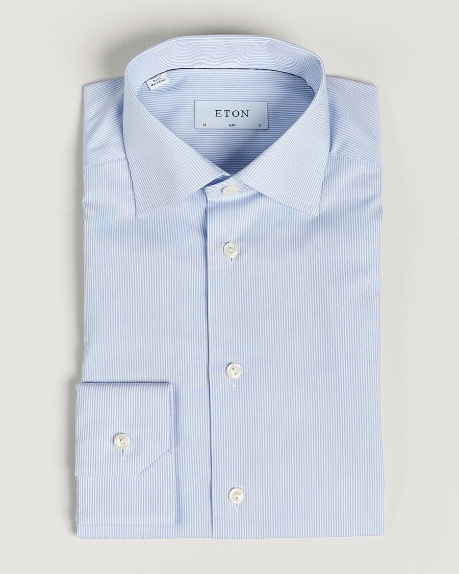 BLUE Slim Fit 27 | Eton | Skjortor | Miinto.se