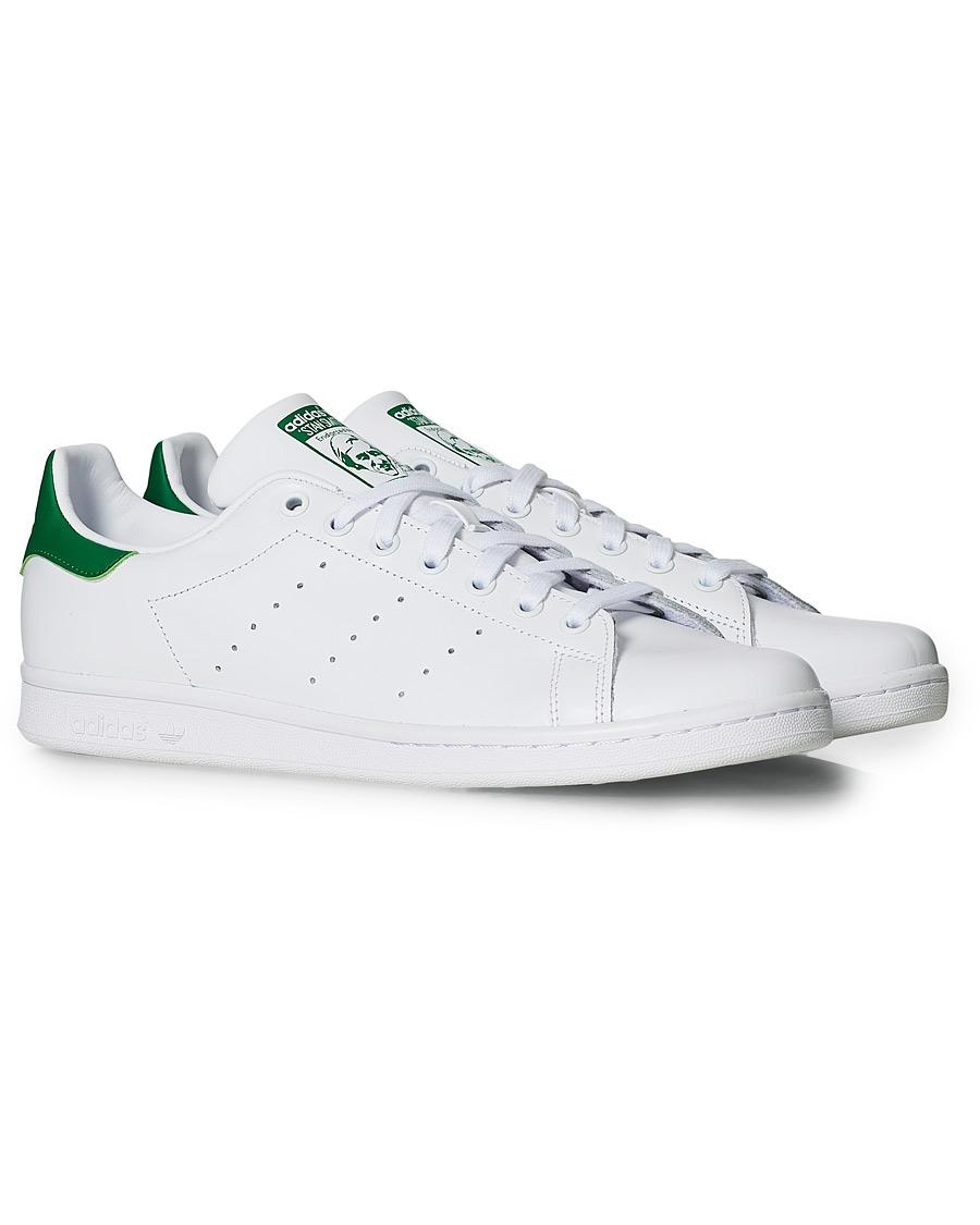 Adidas Originals Stan Smith Leather Sneaker White hos