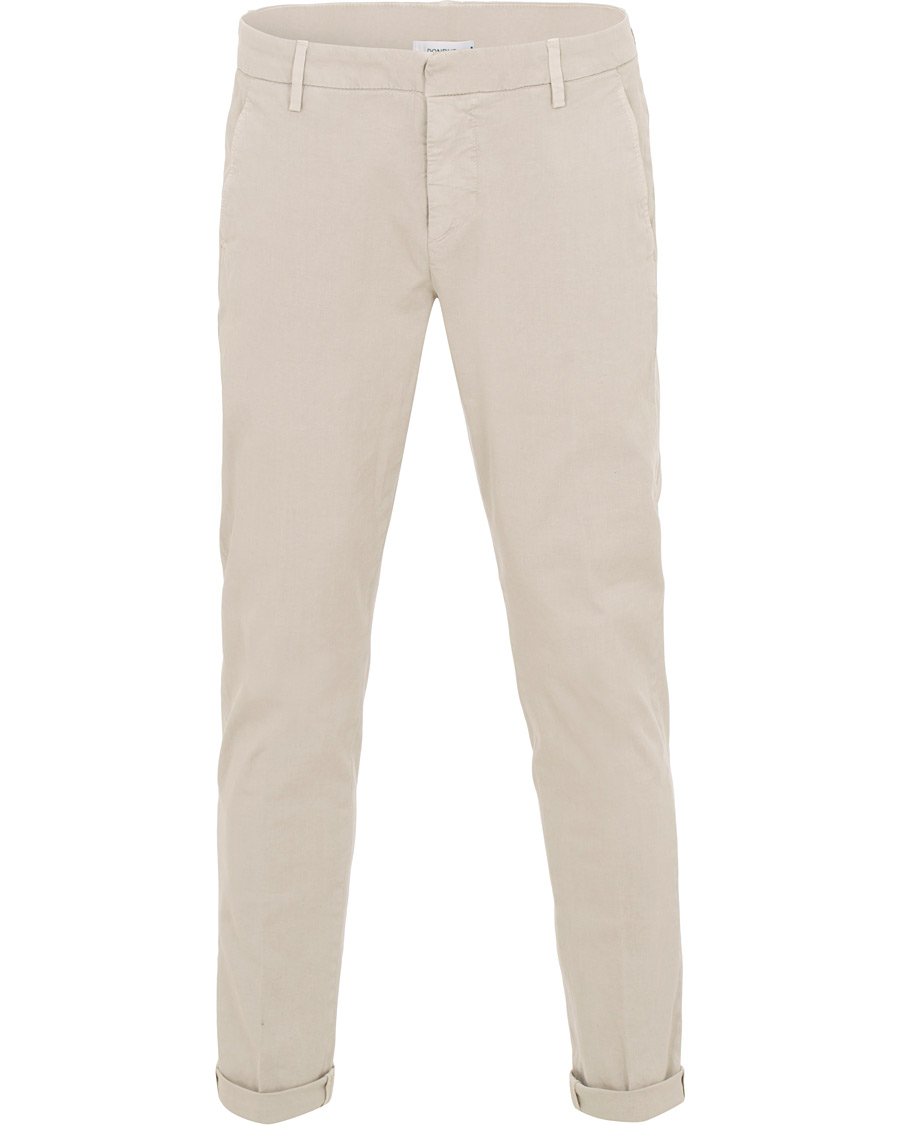 White Perfect pants  Dondup  Kostymbyxor