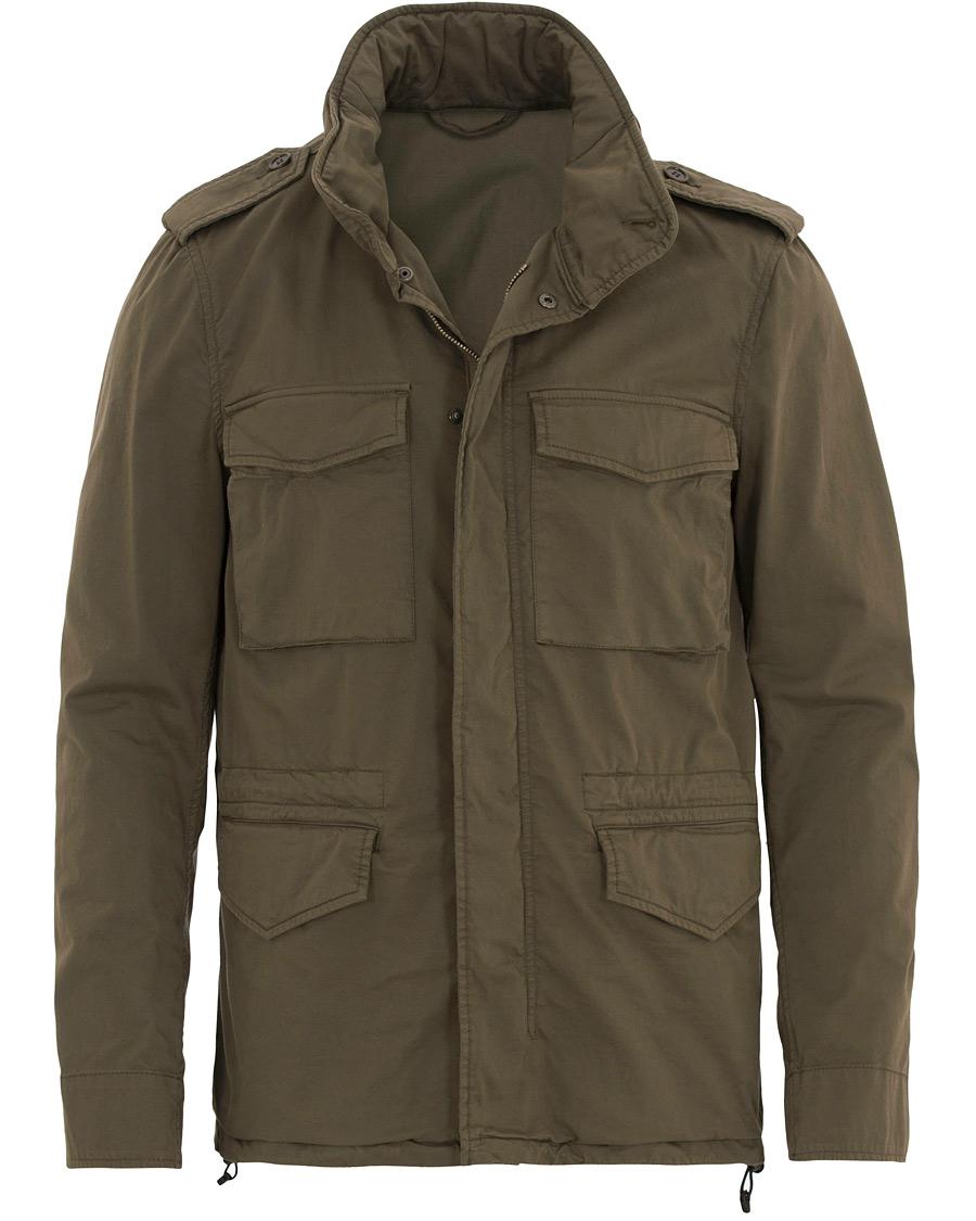 Aspesi Cotton Field Jacket Green hos