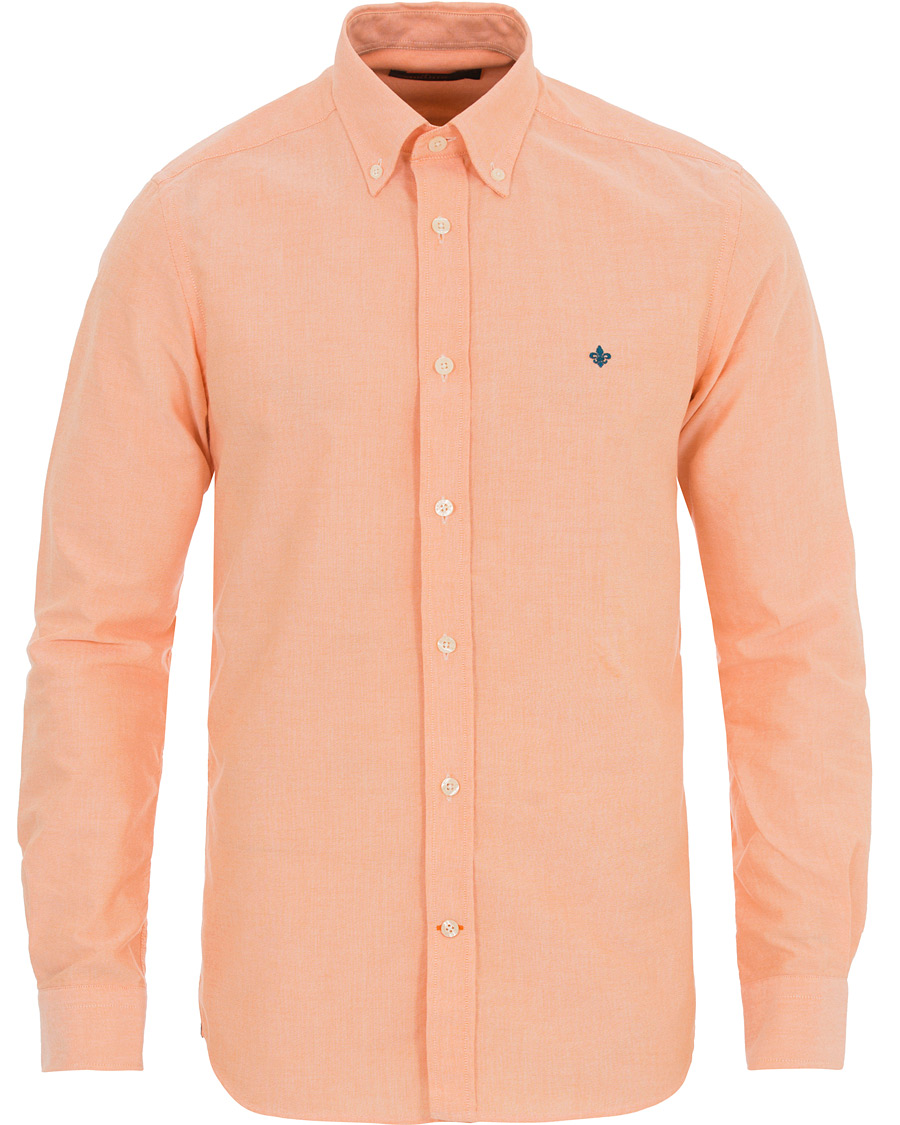 Morris Douglas Oxford Shirt Orange hos CareOfCarl.com 3153f84921a8f
