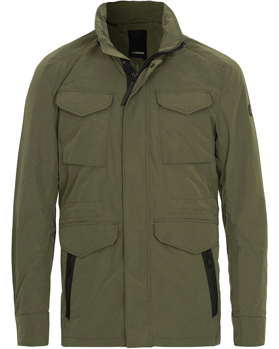 J.Lindeberg Farren Nickel Memo Field Jacket Beetle Green hos